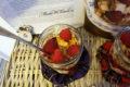Tradycyjny szkocki deser Bonnie Cranachan