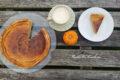 Placek dyniowy z mlekiem skondensowanym. Pumpkin pie.